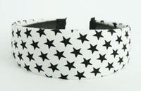 Star white-black large cotton