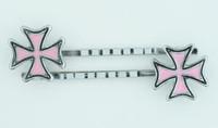Herocross pink-black mix slide