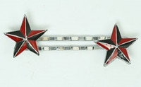 Star black-red mix slide