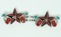 Star cherry black-red mix slide