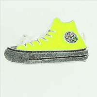 Shoe yellow mix ring