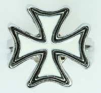 Herocross white mix ring