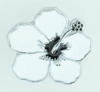 Hibiscus white mix ring