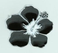 Hibiscus black mix ring