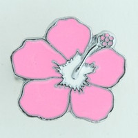 Hibiscus pink mix ring