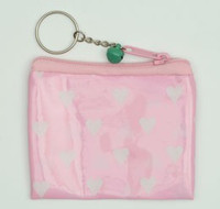 Heart L pink coin bag Bag