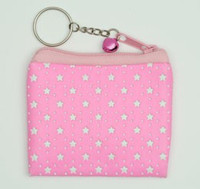 Star L pink coin bag Bag
