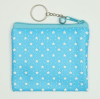 Star blue coin bag Bag