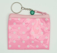 Dot pink coin bag Bag