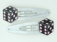 Dice PE black-pink mix special
