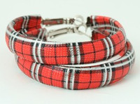 Scotch red creole ear ring