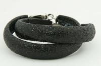 Black creole ear ring