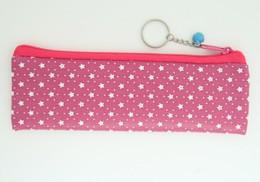 Star D pink pencil bag Bag