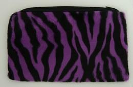 Zebra Purple Pencil bag Bag