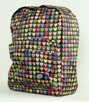 Heart color mix rucksack