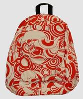 Skull big red mix rucksack