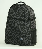 Black grey mix rucksack