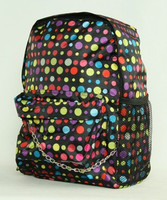 Dot color mix rucksack
