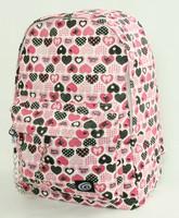 Hearts pink mix rucksack