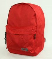 Plain red mix rucksack