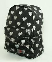 Heart silver mix rucksack