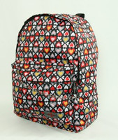 Hearts color up down mix rucksack