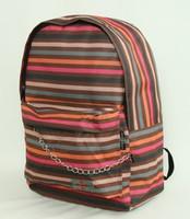 Stripe mix rucksack