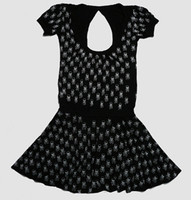 OIB skull black empty fashion dress
