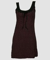 Star basic black-pink fashion dress