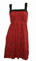 Front - TE leopard red small fashion dress