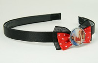 Black-red / pinup red bow & mix