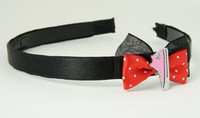 Black-red / shoe pink red bow & mix