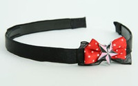 Black-red / star black-pink red bow & mix