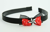 Black-red / star black-white red bow & mix