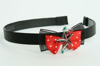 Black-red / star cherry black-red Red bow & mix