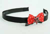 Black-red / star black-red Red bow & mix