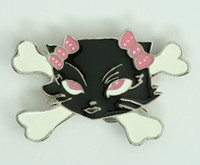 Cat lace pink medium buckle