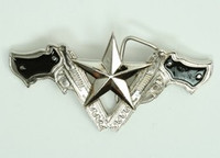 Guns star medium buckle