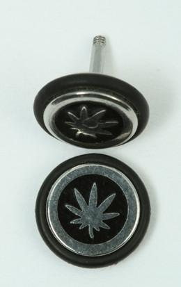 Marijuana black S&M fake piercing