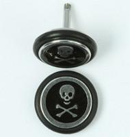 Sk bone small black S&M fake piercing