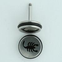 Scorpion small S&M fake piercing