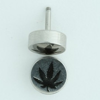 Marijuana S&M fake piercing