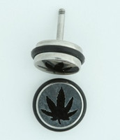MRU marijuana S&M fake piercing
