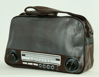 Radio D brown Xlarge bag Bag