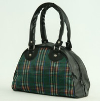 Scotch green small bowling bag