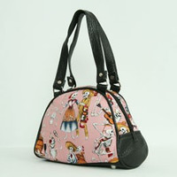 Skelet pink small bowling bag
