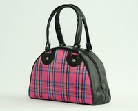 Scotch Pink small bowling bag