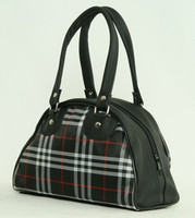 Scotch black small bowling bag