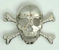 Skull big diamond extra big buckle