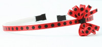Dot red-black small bow